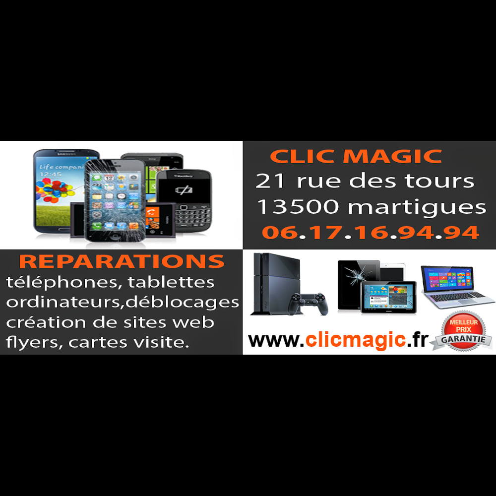 Mobile Pieces Clic Magic MARTIGUES